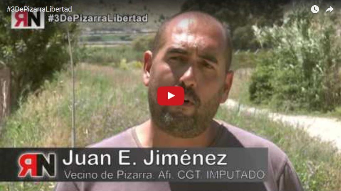 Piden 18 meses de prisión para el Secretario General de CGT Andalucía y dos vecinos de Pizarra, afiliados a CGT, por la ocupación simbolica de unas tierras públicas usurpadas por el conde de Puerto Hermoso
