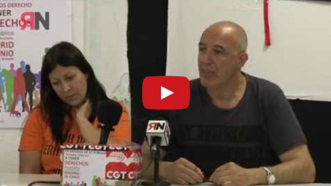 Vídeo: Rueda de prensa CGT #xLoPúblico 07.06.16