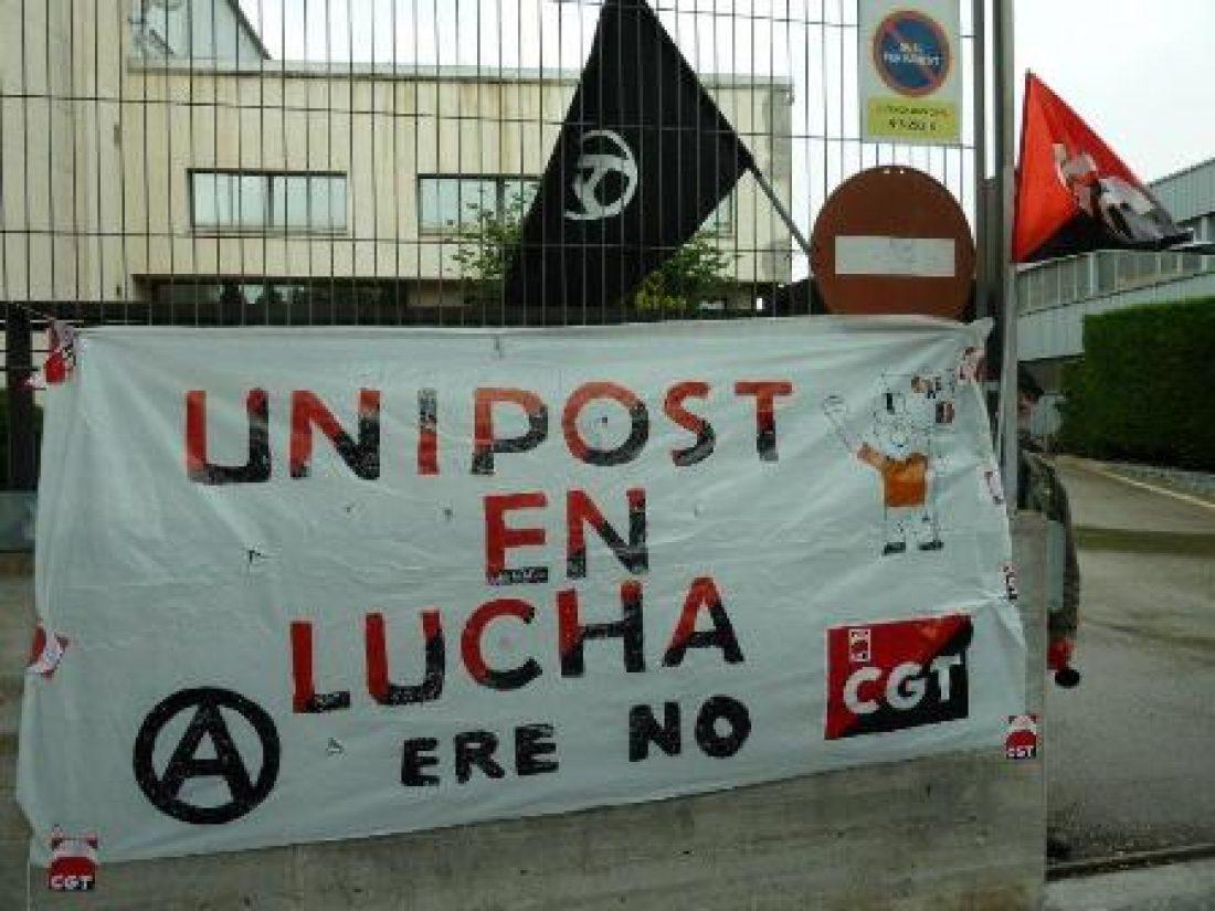 Paros parciales en Unipost Madrid el 16 de julio