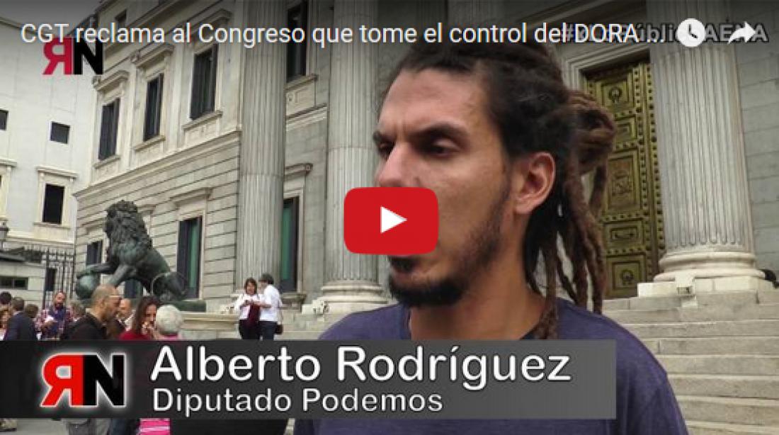 CGT reclama al Congreso que tome el control del DORA de Aena