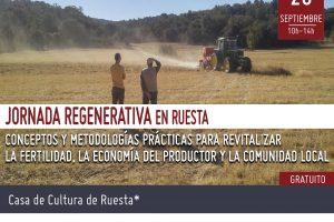 *Jornada Regenerativa* en Ruesta, Zaragoza