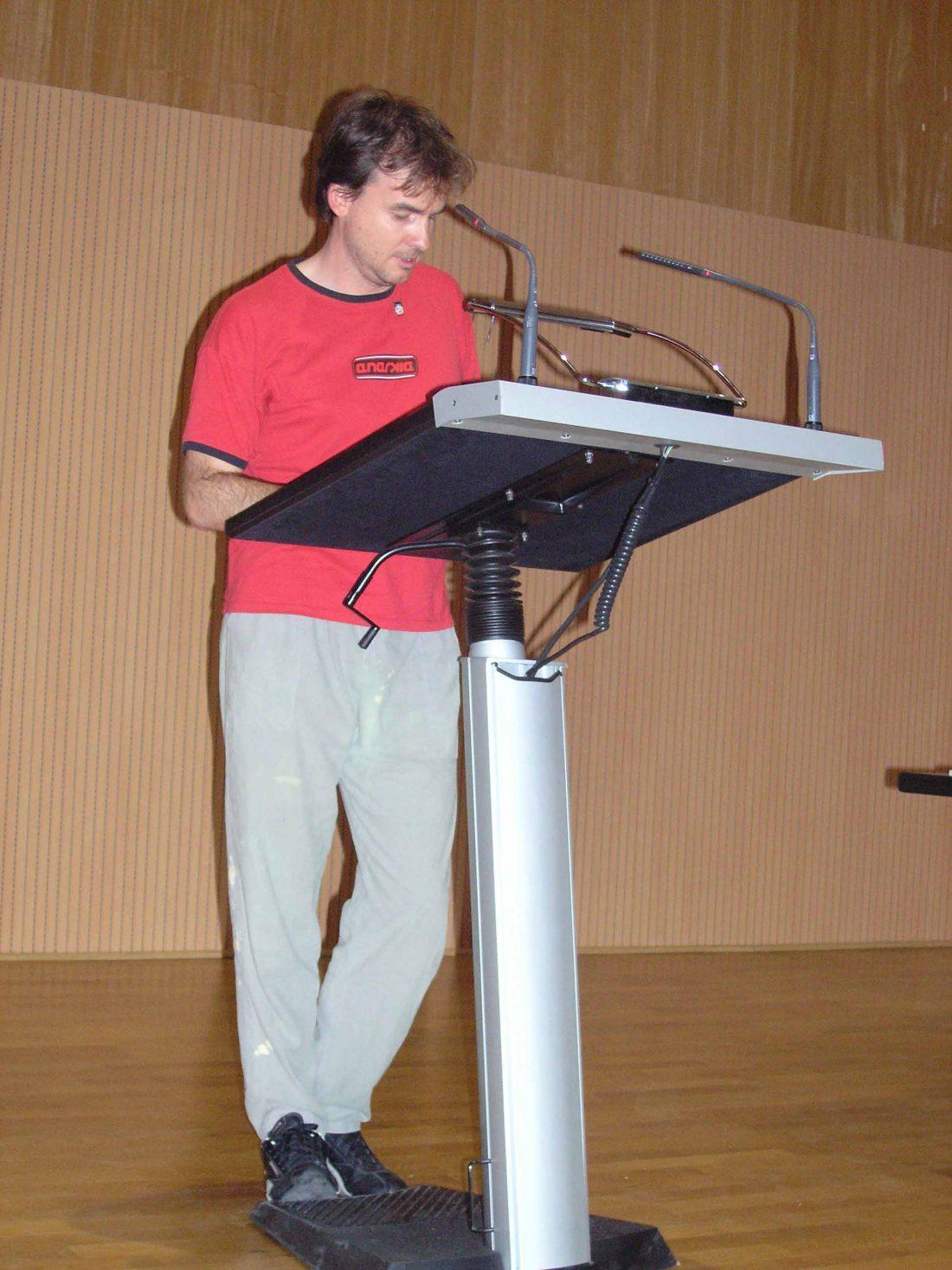 Discurso de la CNT-F al XV Congreso de la CGT