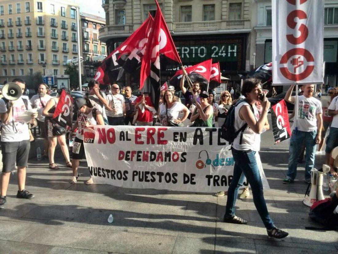 Huelgas en Atento