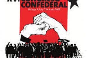Se pone en marcha el XVI Congreso de la CGT : «Construyendo alternativas hacia una sociedad libertaria»