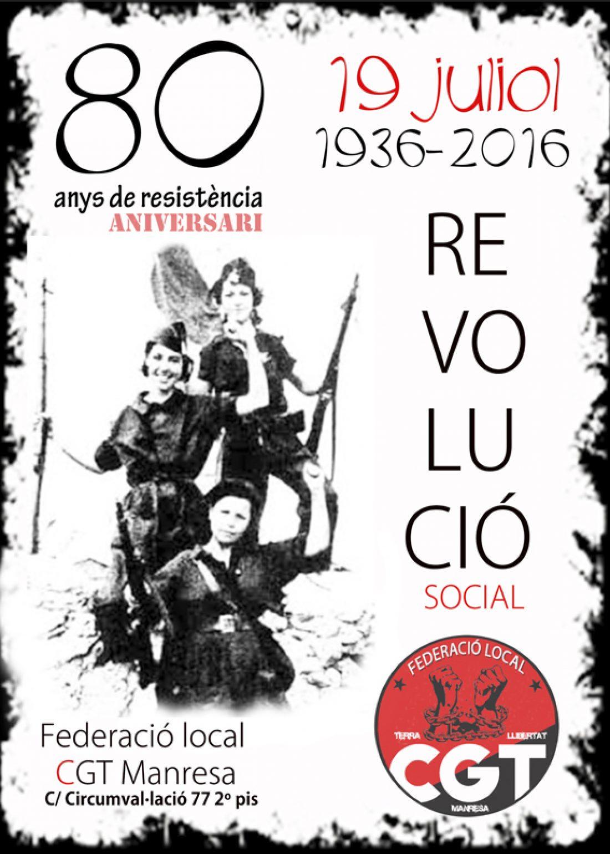 80º aniversario de la Revolución Social