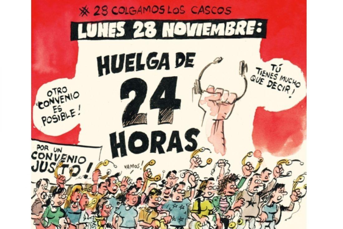 Telemarketing: El Lunes 28 de Noviembre, Tod@s a la huelga