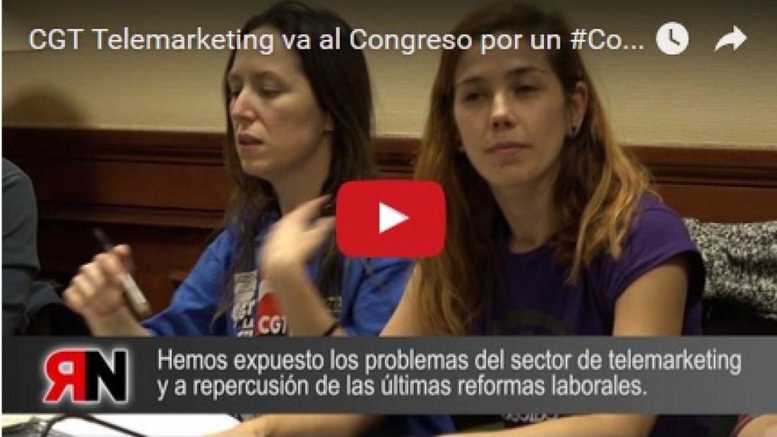 CGT Telemarketing va al Congreso por un #ConvenioDignoTelemarketing