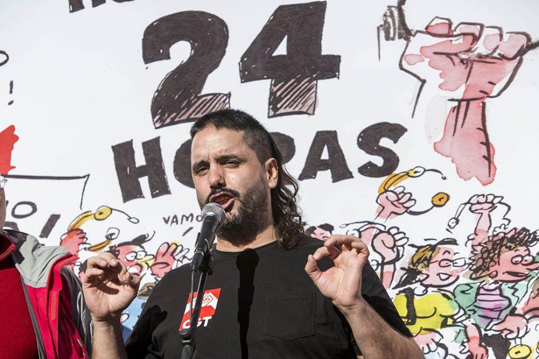 Éxito rotundo de la histórica jornada de huelga del 28 de noviembre