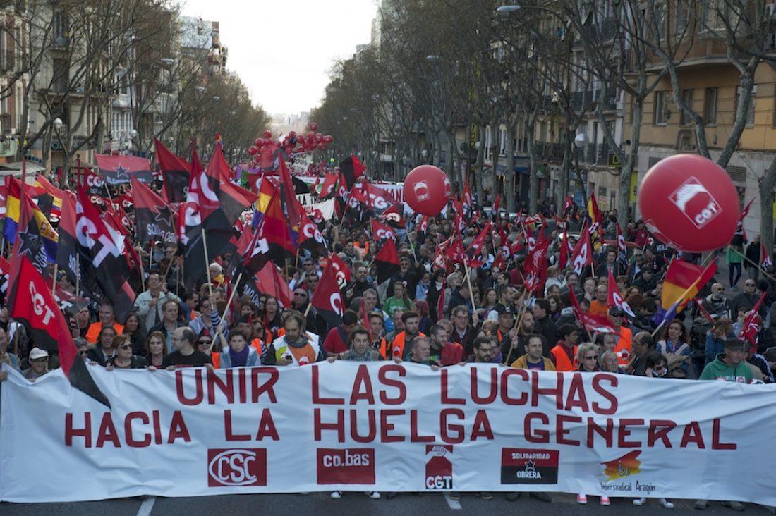 Unidad: Para luchar SI, para pedir pactos sociales NO