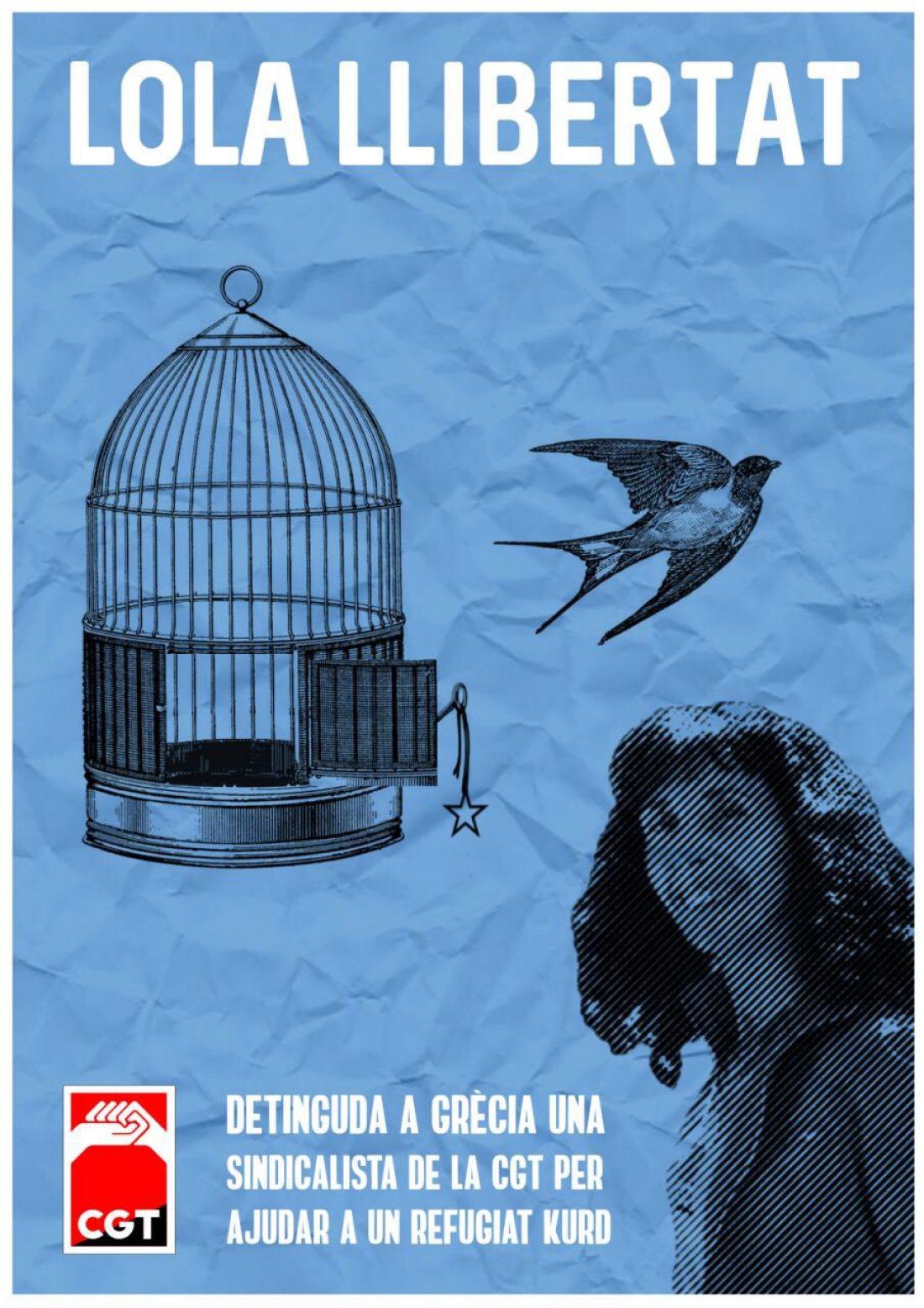 Contra la represión a la solidaridad, ¡Lola libertad!