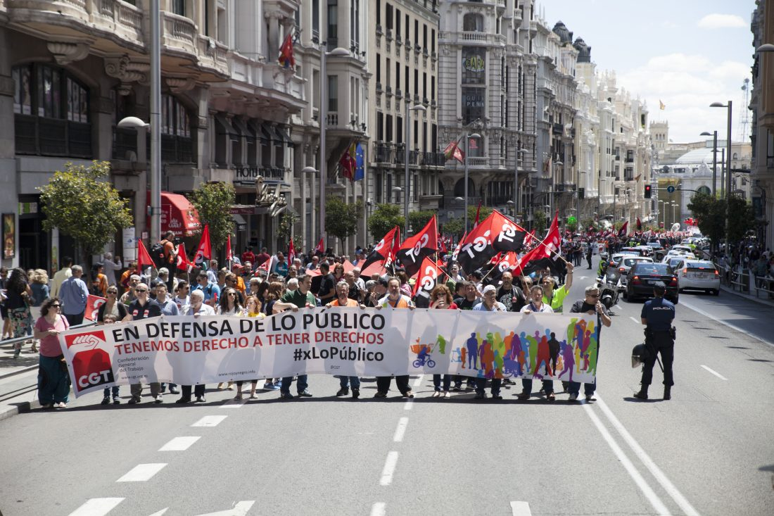 CGT se desvincula de las movilizaciones convocadas por los sindicatos del régimen y sus partidos