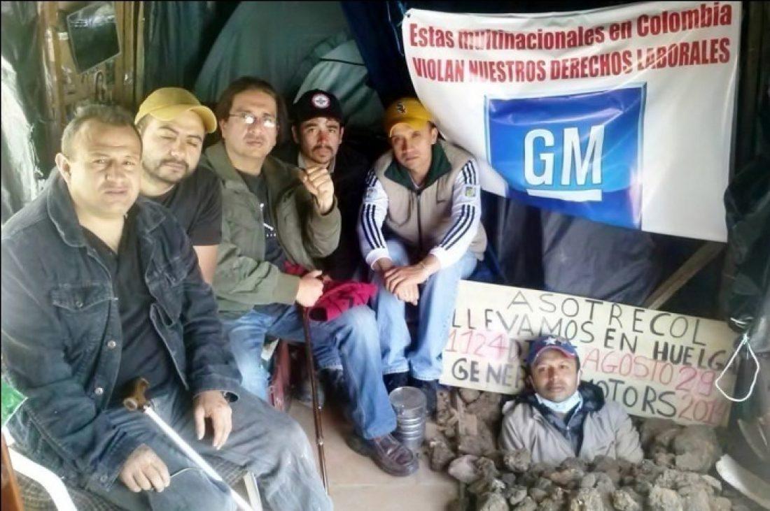La CGT inicia una campaña en apoyo a los trabajadores despedidos en GM Colombia