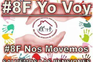 El 8 de febrero luchamos en defensa de las pensiones