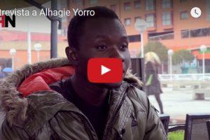 Entrevista a Alhagie Yorro, primer inmigrante en denunciar la estancia en los CIE en el Parlamento Europeo