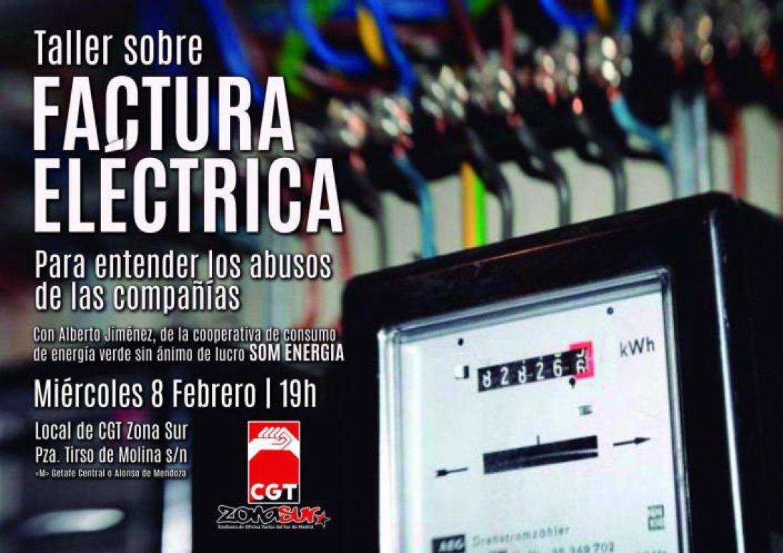 Taller sobre factura eléctrica