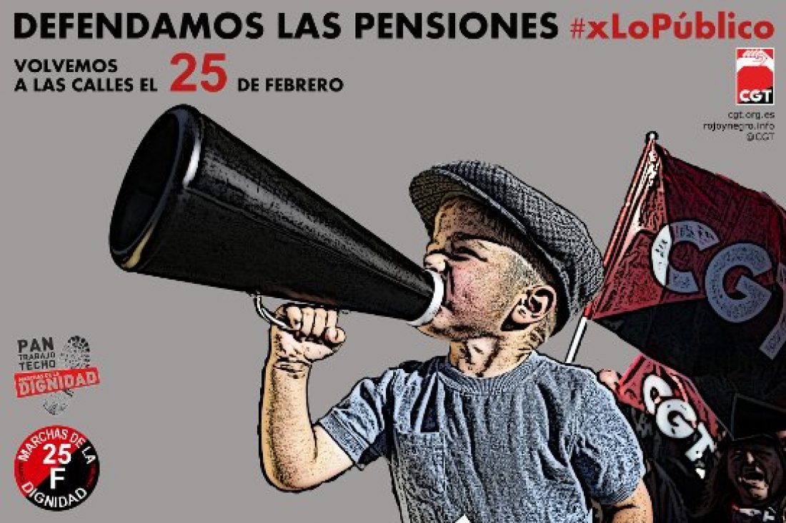 El 25F será un día de lucha en las calles de todo el Estado español en defensa de lo Público