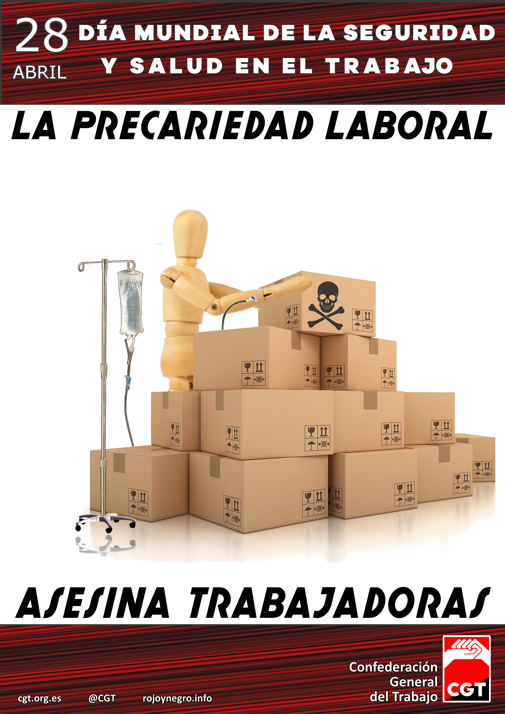 28 de abril  Día Mundial de la Seguridad y Salud en el Trabajo