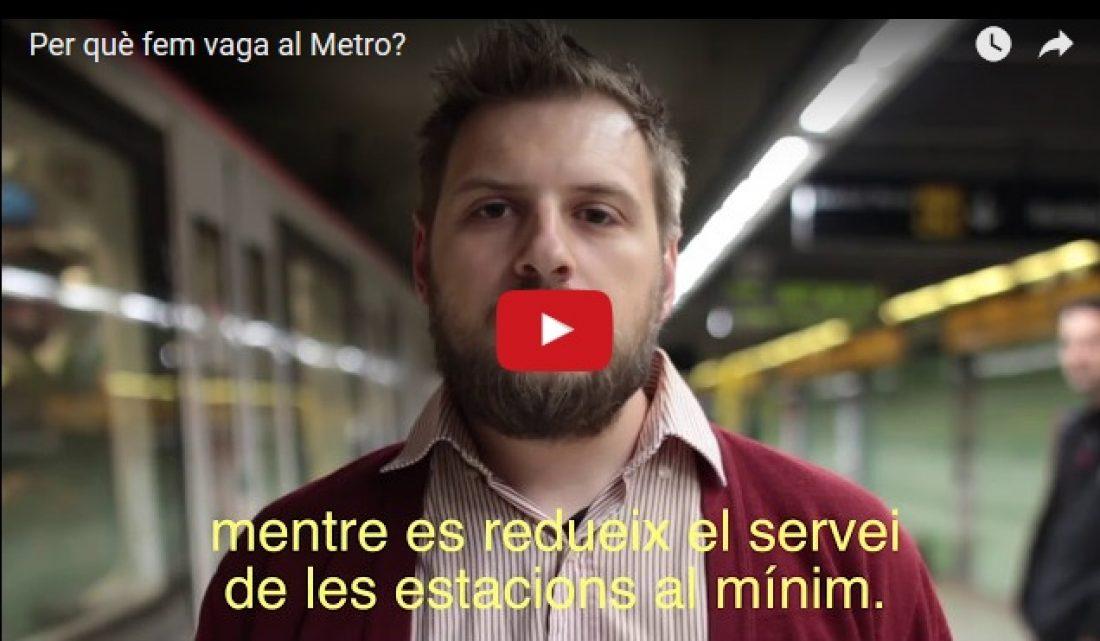 Directivos y políticos contra trabajadoras/es en el Metro de Barcelona