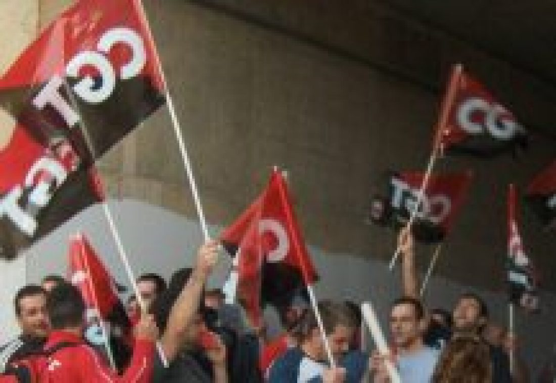 CGT denuncia que 21 trabajadores serán juzgados el próximo 22 de mayo, por ejercer el derecho a la huelga en el año 2007, tras la querella de la Compañía Valenciana de Aluminio Baux