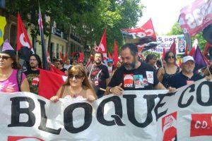 """Miles de personas acuden a Madrid a pedir """"Pan, Trabajo, Techo e Igualdad"""" junto a las Marchas de la Dignidad"""