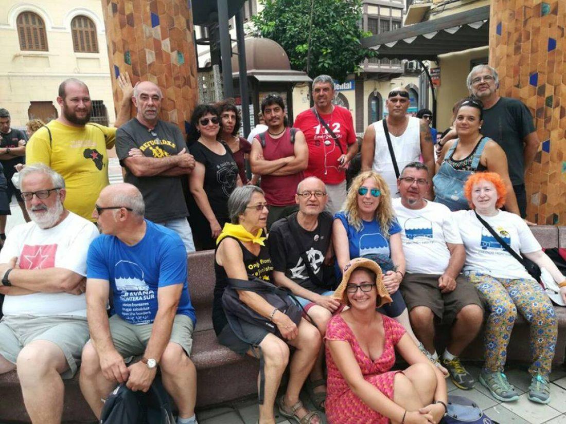 CGT realiza un acto en Melilla de apoyo al pueblo del Rif