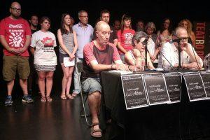 CGT muestra su apoyo a los jóvenes encarcelados tras el montaje policial de Altsasu