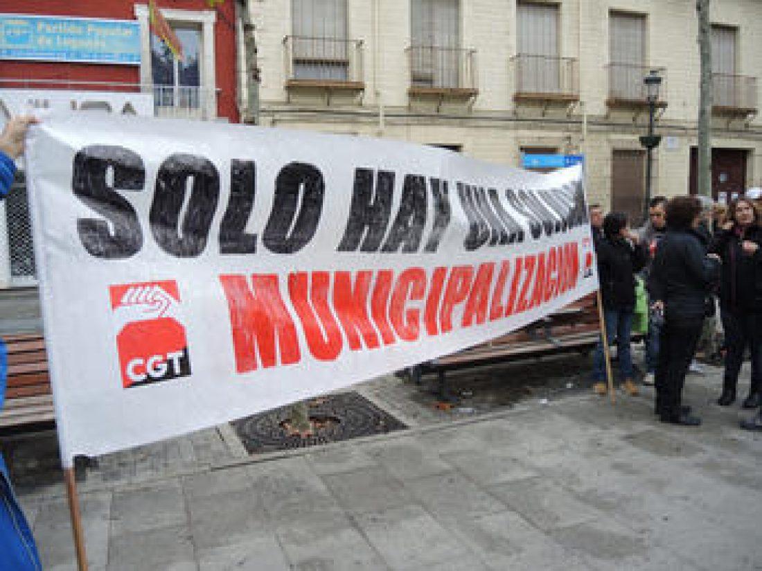 Althenia sanciona a la delegada sindical de CGT por denunciar el mal estado del arbolado de Leganés