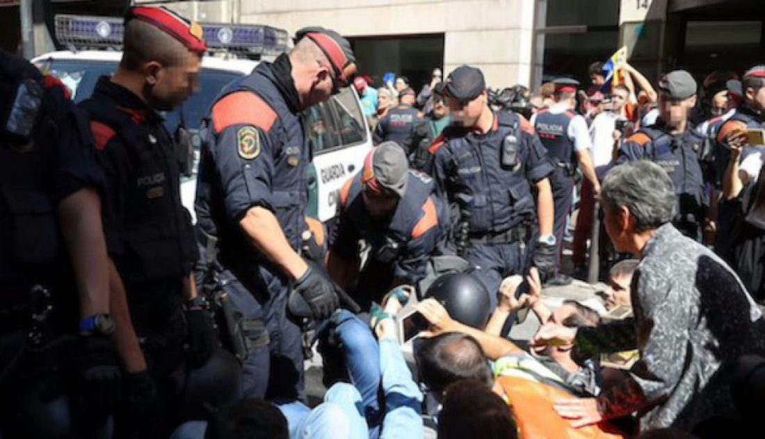 La CGT ante la represión desatada por el estado en Catalunya