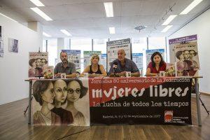 CGT conmemora los 80 años de la constitución de la Federación de Mujeres Libres