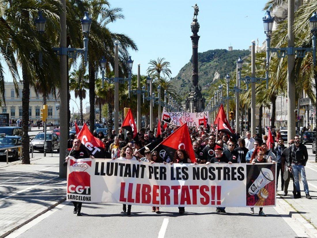 CGT en defensa de las libertades y de la Democracia Directa