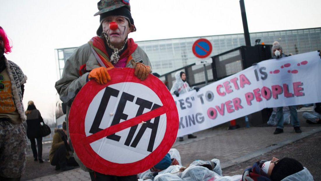 """El Senado realiza una ratificación """"exprés"""" del CETA"""
