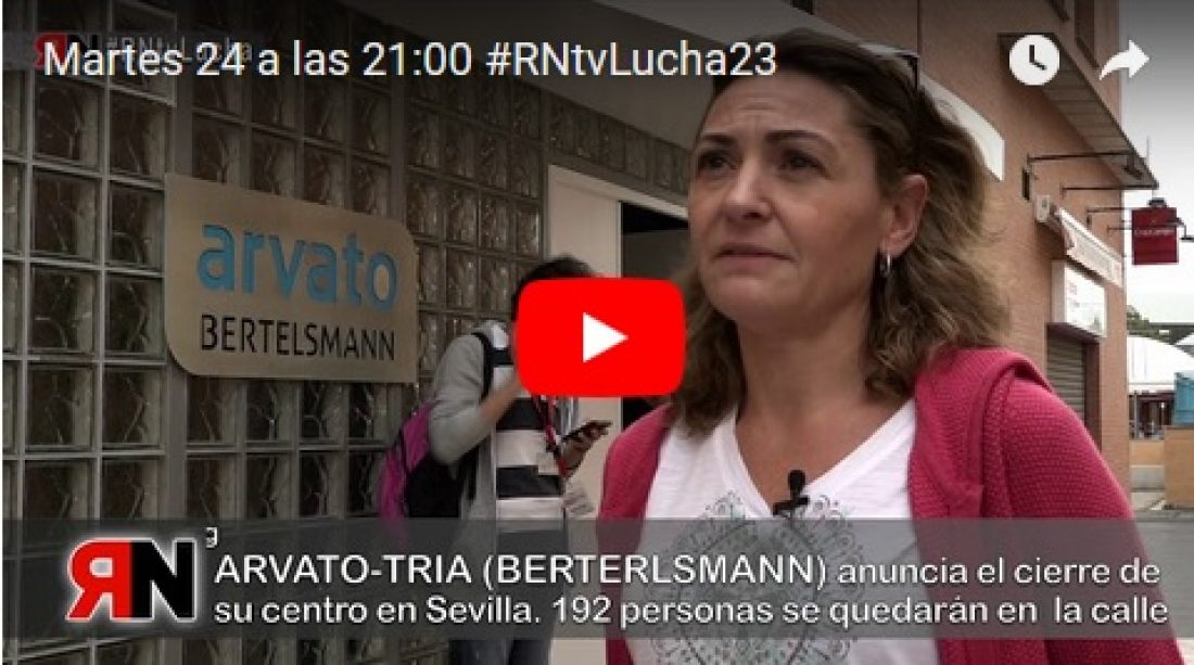 Martes 24 a las 21:00 #RNtvLucha23