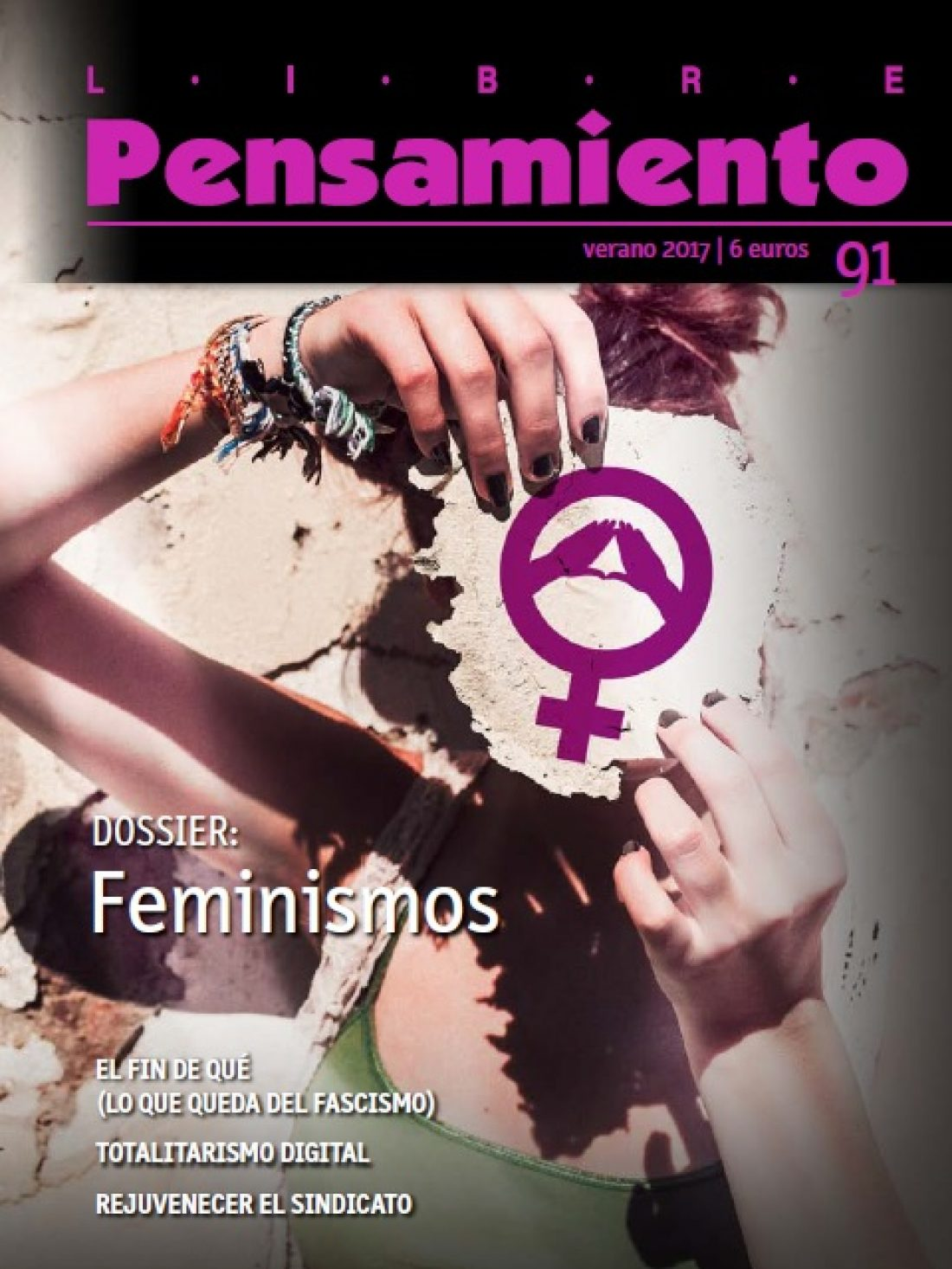 Libre Pensamiento nº 91 (en PDF) Feminismos