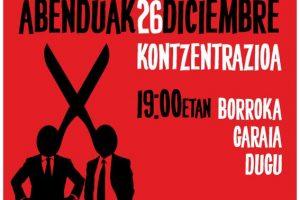 Iruña: Concentración en defensa de lo público, en defensa de lo común