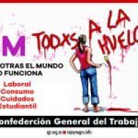Argumentario de CGT para la Huelga General del 8 de Marzo