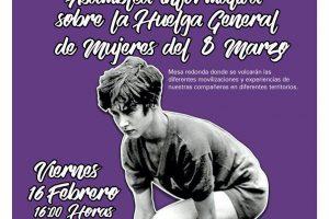 16-F: Asamblea informativa sobre la Huelga de Mujeres 8M