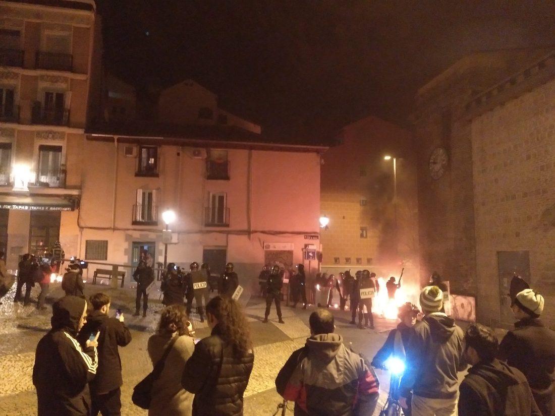 Las calles de los barrios, vuelven a arder