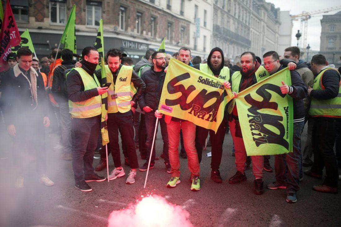 La CGT se solidariza y apoya a la huelga de trabajadores y trabajadoras ferroviarias Francesas