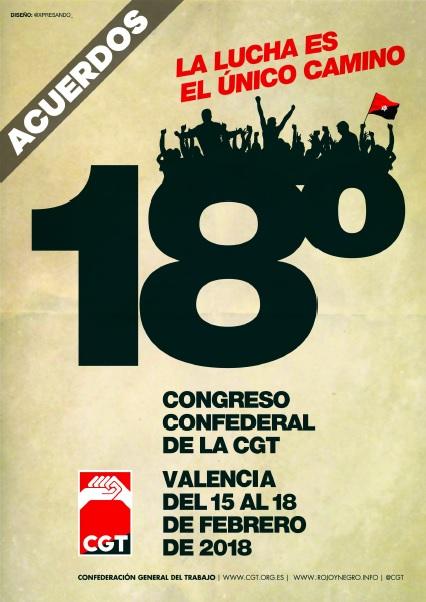 Acuerdos 18º Congreso Valencia 2018