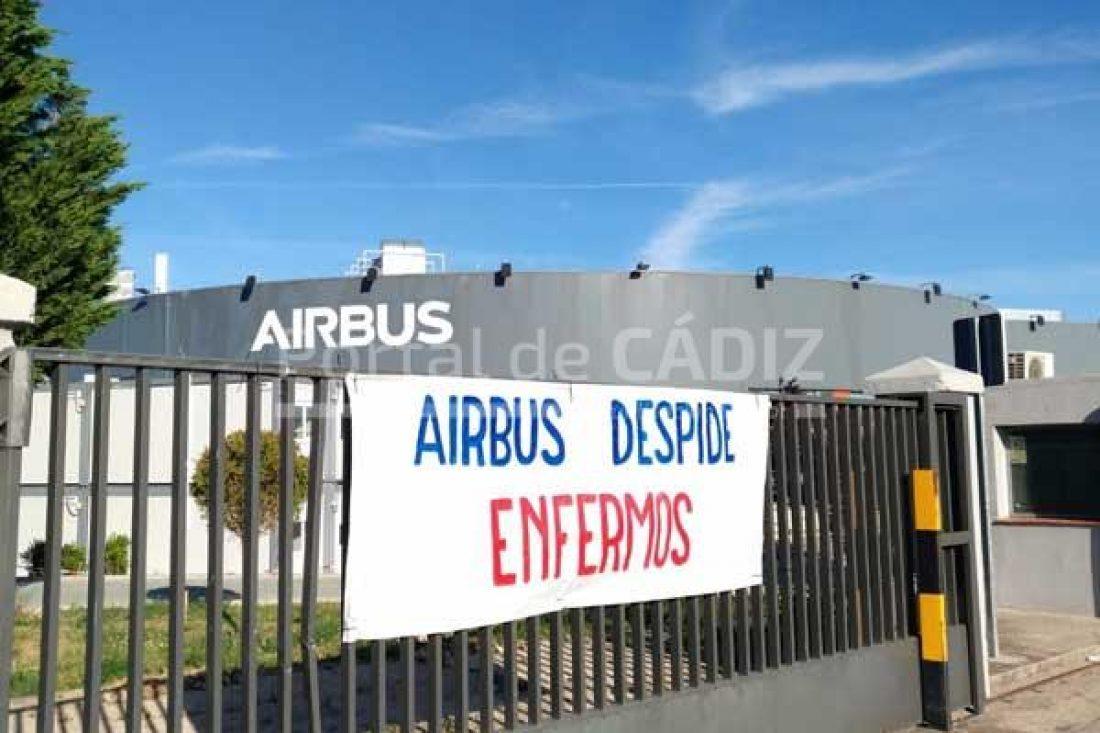 CGT denuncia que el despido del trabajador enfermo de Airbus es una consecuencia directa de la reforma laboral del PP