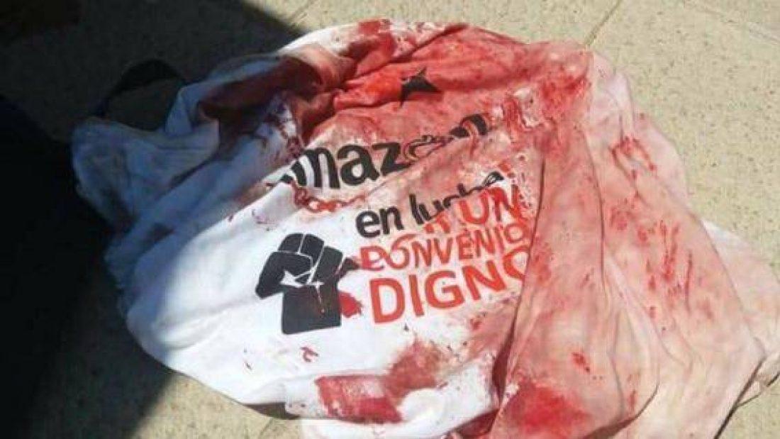 CGT condena la violencia policial contra la plantilla en huelga de Amazon
