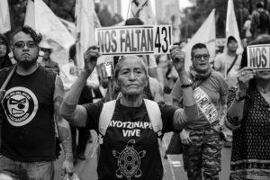 CGT manifiesta su repulsa a las desapariciones forzosas en el 4º aniversario de la desaparición de los 43 estudiantes de Ayotzinapa