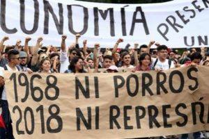 CGT condena los ataques de grupos violentos conniventes con el poder contra las manifestaciones estudiantiles en México