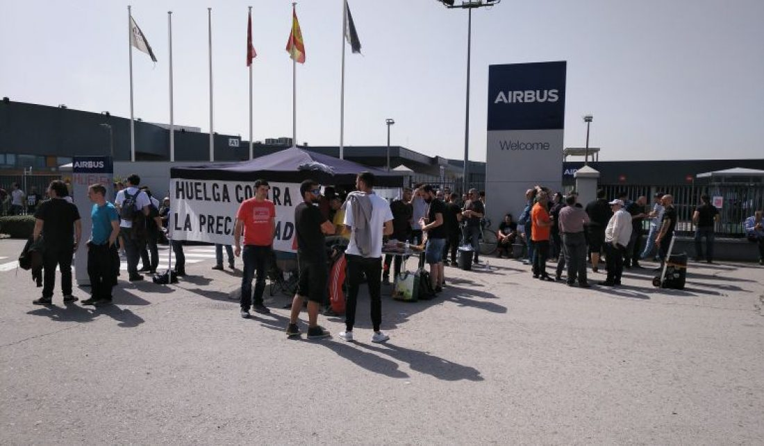 Finaliza la huelga indefinida en ISS-Airbus