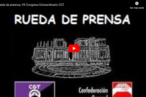 En Directo, Rueda de Prensa VII Congreso Extraordinario