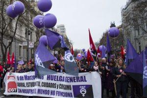 """CGT aclara que su anuncio de Huelga General para el 8M es en solitario y desconoce las condiciones de """"convocatorias"""" o """"paros"""" de otras organizaciones"""