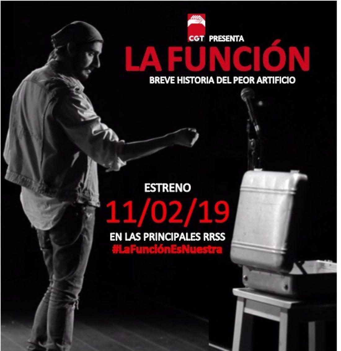 Estrenamos «La Función», lunes 11 de febrero a las 12:00 horas