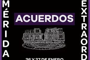 Acuerdos del VII Congreso Extraordinario celebrado en Mérida