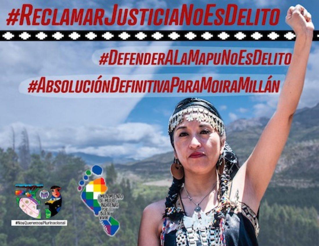 CGT exige la absolución definitiva de Moira Ivana Millán