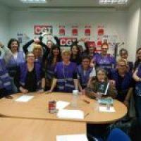 Encuentro de las Secretarias de la Mujer y colaboradoras de la CGT